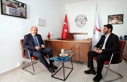 Tatar'dan Kızılay'a ziyaret