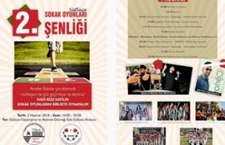 """""""2. SOKAK OYUNLARI ŞENLİĞİ"""" 2 HAZİRAN CUMARTESİ..."""