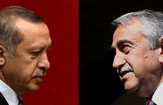 AKINCI, ERDOĞAN'I TEBRİK ETTİ