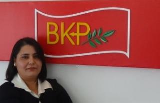 BKP KADIN MECLİSİ'NDEN EĞİTİM BAKANI ÖZYİĞİT'E...