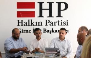 CTP GİRNE BELEDİYE BAŞKAN ADAYI KARAMAN HP GİRNE...