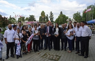 HP HEYETİ GÜZELYURT ÇARŞISI VE AÇIK PAZAR'I...