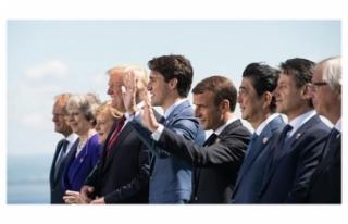 KANADA'DAKİ G7 LİDERLER ZİRVESİ SONA ERDİ