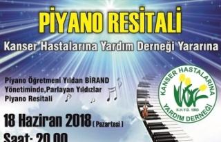 KANSER HASTALARINA YARDIM DERNEĞİ YARARINA BELLAPAİS'TE...