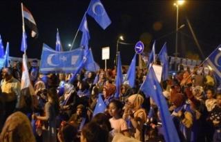 KERKÜK'TE TÜRKMENLERİN BAŞLATTIKLARI 28 GÜNLÜK...