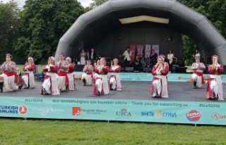 LONDRA'DA 2. KIBRIS TÜRK KÜLTÜR FESTİVALİ YAPILDI