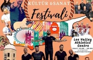 """LONDRA'DA """"KIBRIS TÜRK KÜLTÜR SANAT FESTİVALİ""""..."""