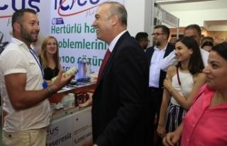 SERTOĞLU, KKTC ULUSLARARASI FUARI'NI ZİYARET ETTİ