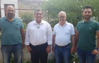 ULAŞ GÖKÇE DEV-İŞ VE KTMMOB'Yİ ZİYARET ETTİ