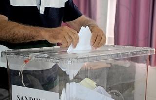 Ülke genelinde seçime katılım oranı en fazla...
