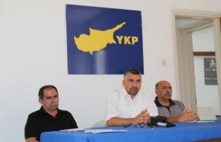 YKP SEÇİMLER İÇİN BELEDİYE MECLİSLERİNE TDP...
