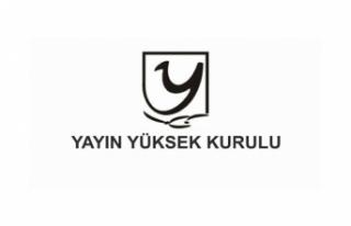 YYK 4 TV KANALINA UYARI 1 TV KANALINA PARA CEZASI...