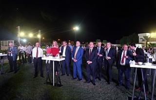 11 TEMMUZ BASIN GÜNÜ RESEPSİYONLA KUTLANDI, ONUR...