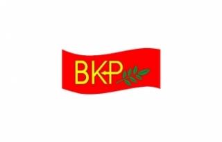BKP'DEN TC BÜYÜKELÇİSİ'NE ELEŞTİRİ