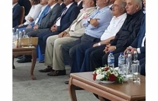 ÇALUDA KOOP-İŞ SENDİKASININ GENEL KURULUNA KATILDI