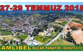 ÇAMLIBEL DOMATES FESTİVALİ 27-29 TEMMUZ'DA