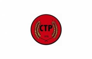 CTP, LUTE'UN GELİŞİNİ SELAMLADI VE ÇÖZÜM...