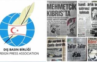 DIŞ BASIN BİRLİĞİ MUTLU BARIŞ HAREKATI'NIN...