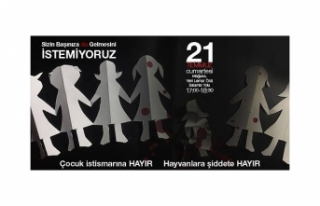 """GAZİMAĞUSA'DA CUMARTESİ GÜNÜ """"ÇOCUK İSTİSMARINA..."""