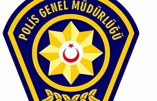 GÜZELYURT'TA POLİSİN ARAMA YAPTIĞI BİR ARAÇTA...