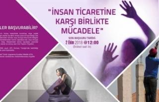 """İNSAN TİCARETİNE KARŞI BİRLİKTE MÜCADELE..."