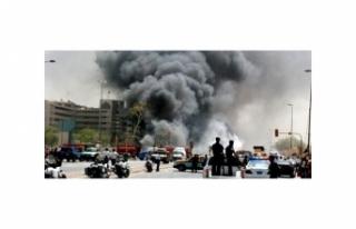 IRAK'TA BOMBALI SALDIRI
