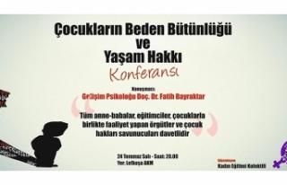 """KADIN EĞİTİMİ KOLEKTİFİ """"ÇOCUKLARIN BEDEN..."""