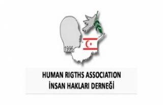 KKTC İNSAN HAKLARI DERNEĞİ, ANASTASİADİS'İN...