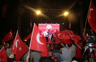 KKTC'DE 15 TEMMUZ ŞEHİTLERİ ANILDI