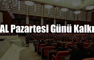 OHAL PAZARTESİ GÜNÜ KALKIYOR