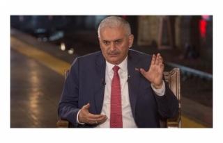 TC BAŞBAKANI YILDIRIM AA EDİTÖR MASASI ÖZEL'DE...
