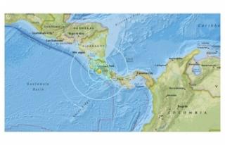 KOSTA RİKA'DA 6,1 BÜYÜKLÜĞÜNDE DEPREM