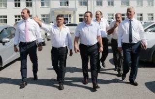 MALİYE BAKANI DENKTAŞ, LEFKOŞA SANAYİ BÖLGESİ...