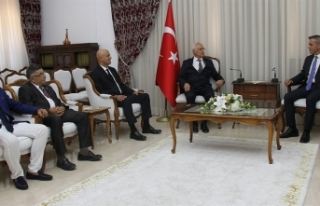 MECLİSİ BAŞKANI ULUÇAY, KUZEY KIBRIS TÜRK KIZILAY...