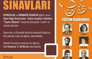 YDÜ SAHNE SANATLARI FAKÜLTESİ TİYATRO BÖLÜMÜ,...
