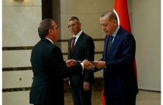ANKARA BÜYÜKELÇİSİ KÖPRÜLÜ, TC CUMHURBAŞKANI...