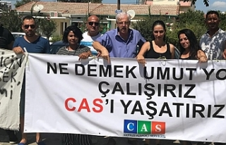 """EYLEMDEKİ CAS ÇALIŞANLARI:""""HİSSE DEVRİNDEN..."""