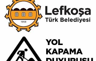 LEFKOŞA'DA HAFTA SONU İKİ GÜZERGAH TRAFİĞE...