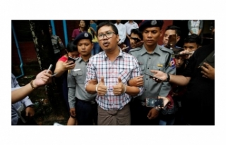 MYANMAR'DAKİ REUTERS MUHABİRLERİNE YEDİŞER...