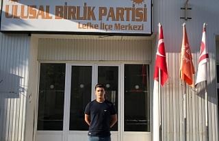 UBP LEFKE İLÇE GENÇLİK KOLLARI BAŞKANI YUSUF...