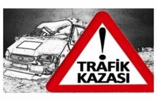 GAZİMAĞUSA'DA TRAFİK KAZASINDA BİR KİŞİ...