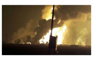İRAN'DA DOĞAL GAZ BORU HATTINDA PATLAMA