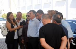 MECLİS ÖNÜNDE ZAM VE PAHALILIK PROTESTOSU… ULUÇAY...