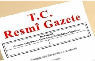 TÜRKİYE'DE BÜYÜKELÇİ ATAMALARI RESMİ GAZETE'DE