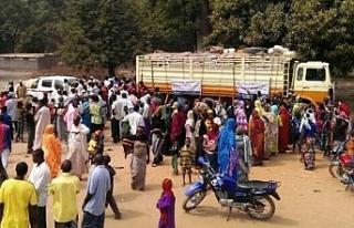 10 bin kişi aynı hastaneye sığındı