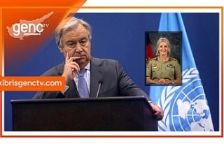 BM'den Kıbrıs Barış Gücü komutanlığına...