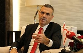 """""""Bölgede istikrar için Kıbrıs sorununun çözümü..."""
