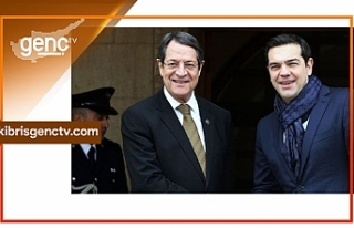Brüksel'de Yunan Başbakan ile görüştü