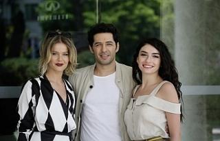 Ergüçlü, yeni filminin galası için Kıbrıs'ta
