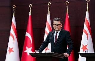 Erhürman:Kıbrıs Türk Halkı kendi kendini yönetme...